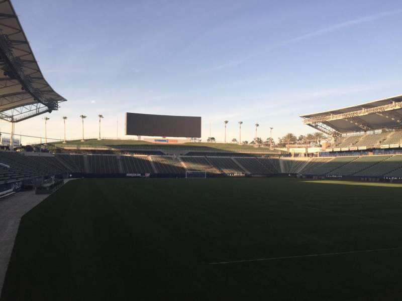 Seating view for StubHub Center Section 104 Row C Seat 15
