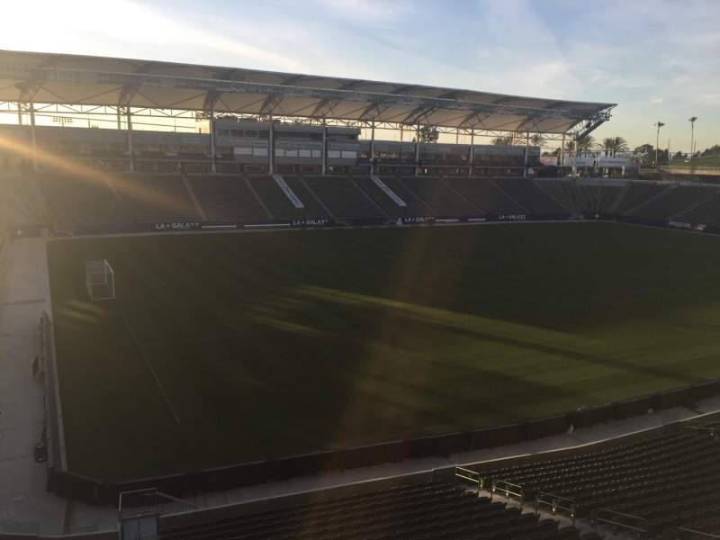 Seating view for StubHub Center Section 237 Row AA Seat 15