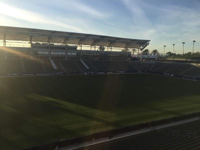 Seating view for StubHub Center Section 235 Row AA Seat 15