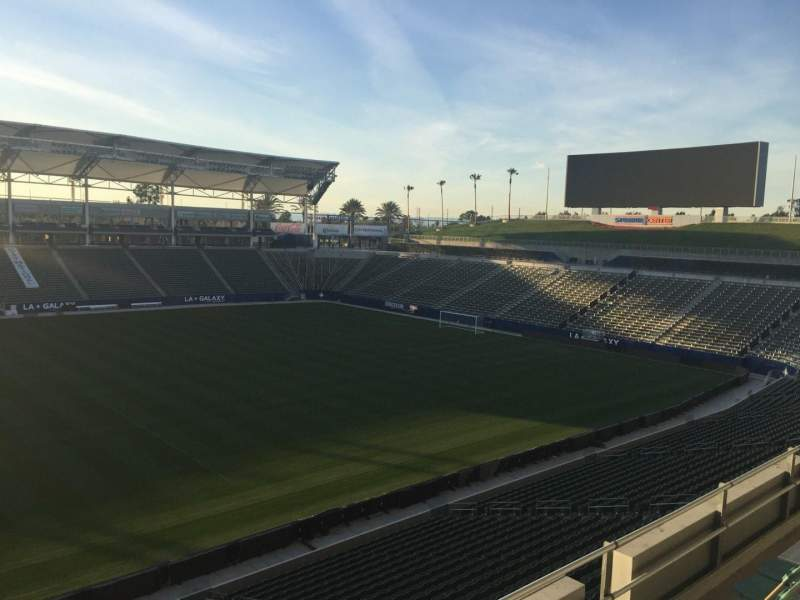 Seating view for StubHub Center Section 233 Row DD Seat 15