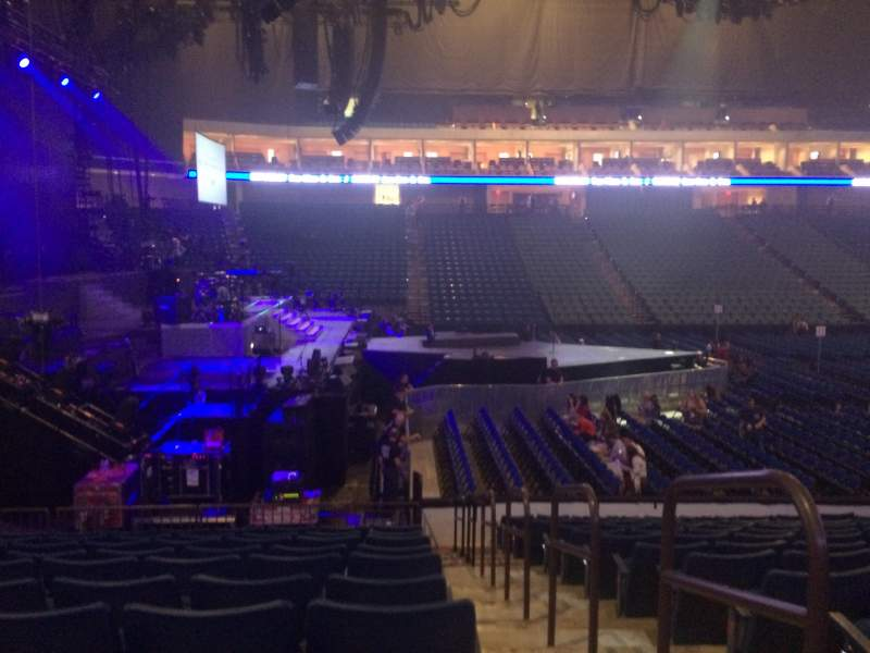 BOK Center, section: 119, row: P, seat: 1