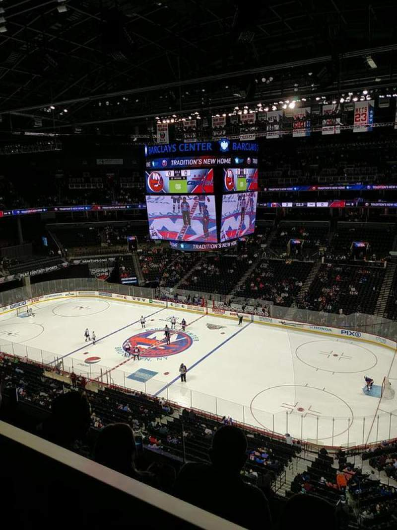Seating view for Barclays Center Section 222 Row 3