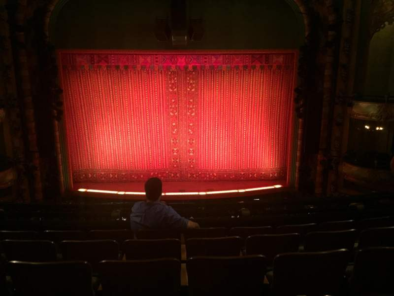 Seating view for New Amsterdam Theatre Section Mezz Center