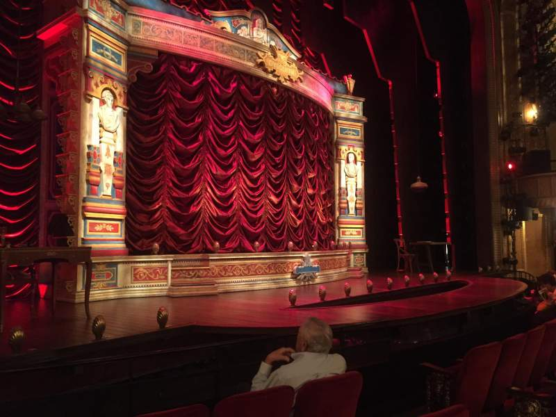Seating view for Walter Kerr Theatre Section Orch Left Row D Seat 7