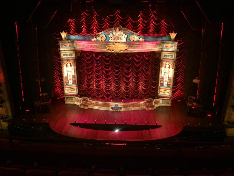 Seating view for Walter Kerr Theatre Section Mezz Center Row G Seat 107