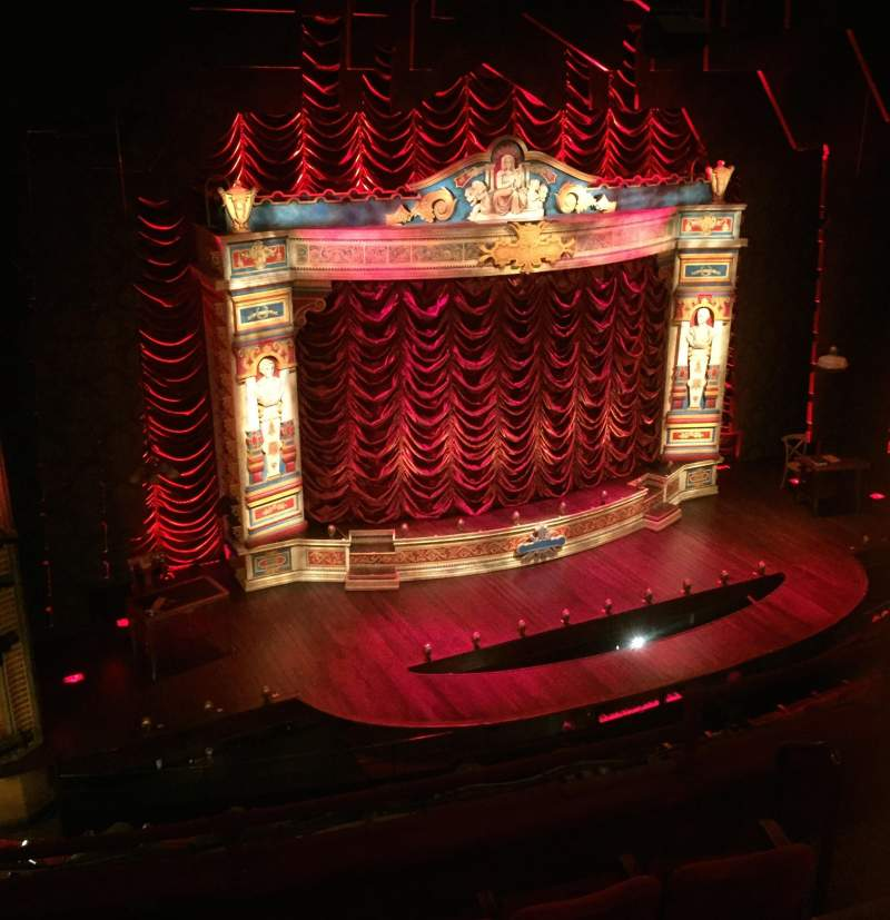 Seating view for Walter Kerr Theatre Section Mezz Left Row G Seat 7