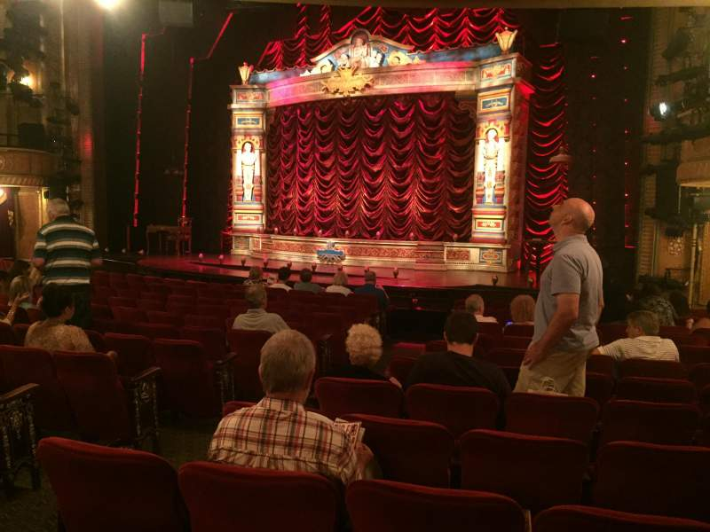 Seating view for Walter Kerr Theatre Section Orch Right Row R Seat 8