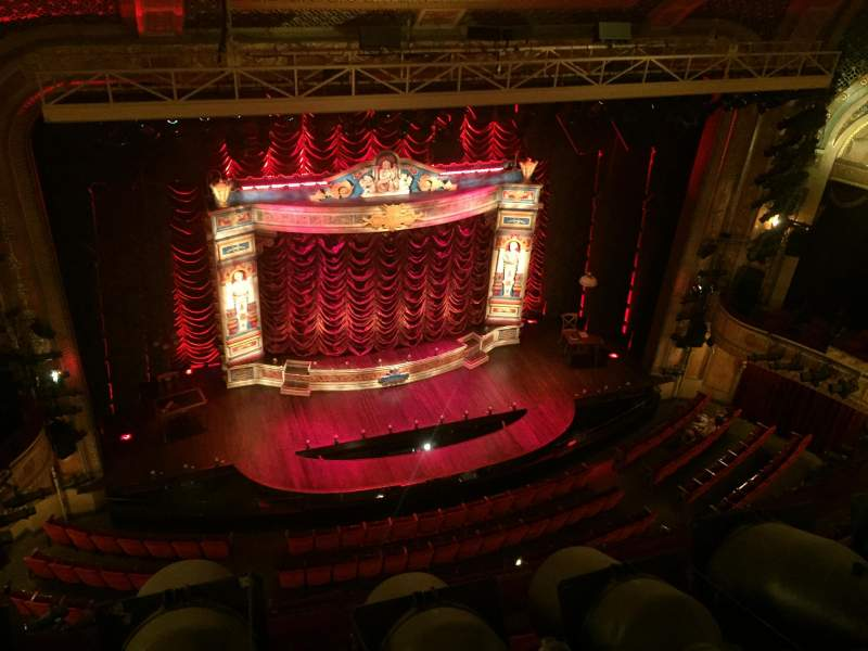 Seating view for Walter Kerr Theatre Section Balc Left Row A Seat 7