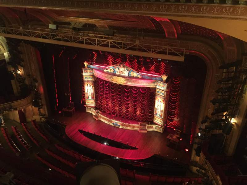 Seating view for Walter Kerr Theatre Section Balc Right Row A Seat 8