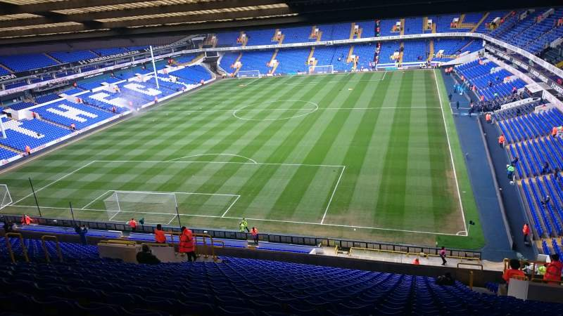 Seating view for White Hart Lane Section 51 Row 26 Seat 103