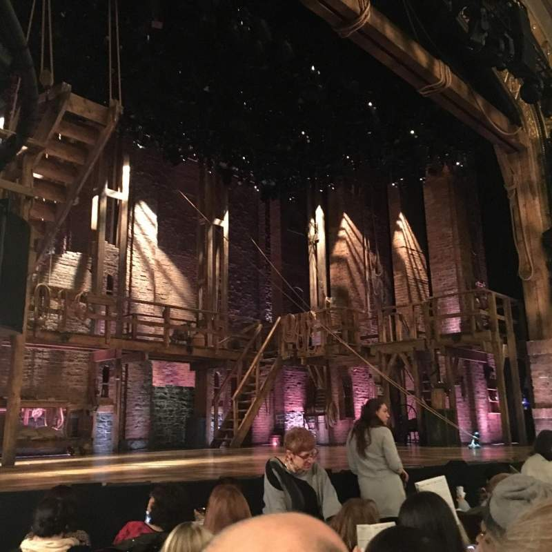Seating view for Richard Rodgers Theatre Section Orchestra Row F Seat 17