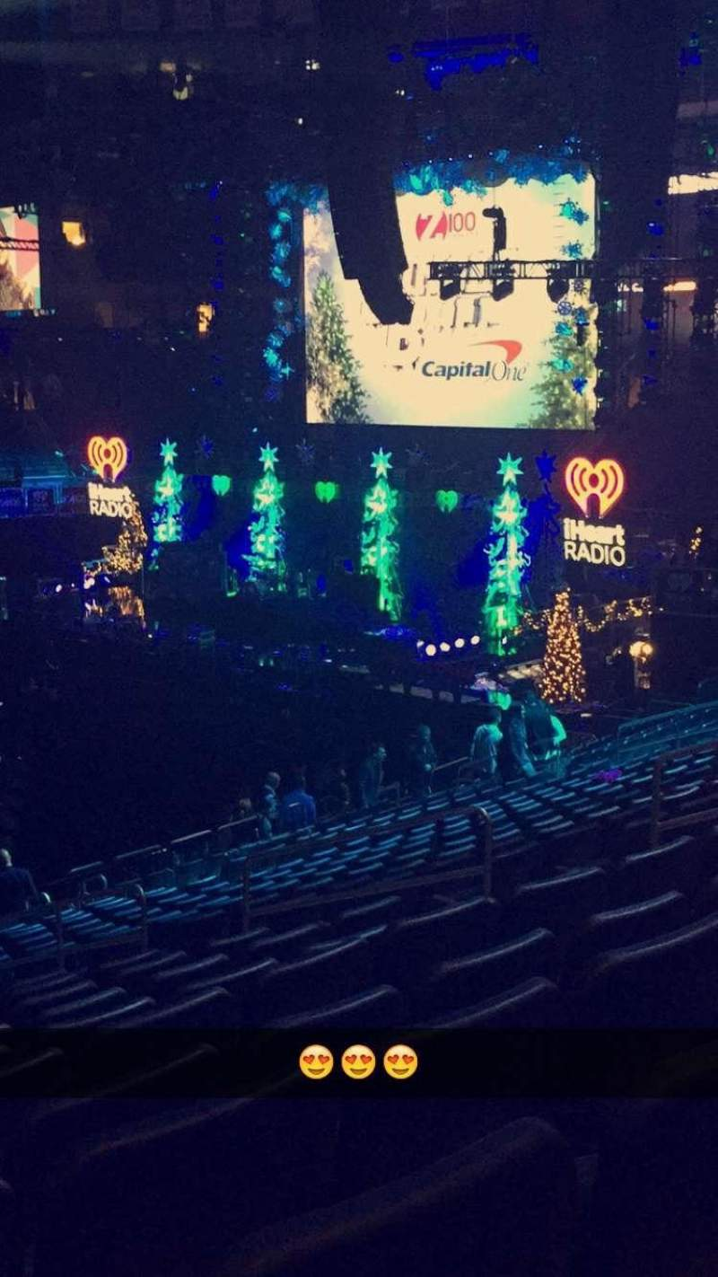 Seating view for Madison Square Garden Section 106 Row 21 Seat 9