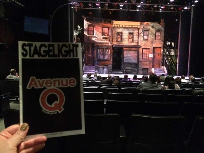 Seating view for New World Stages - Stage 3 Section Orchestra Row M Seat 103