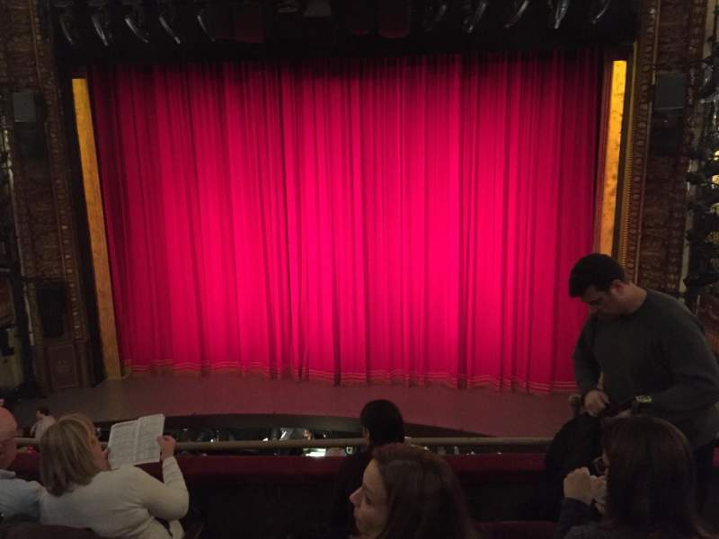 Seating view for Palace Theatre (Broadway) Section Mezz Row C Seat 113