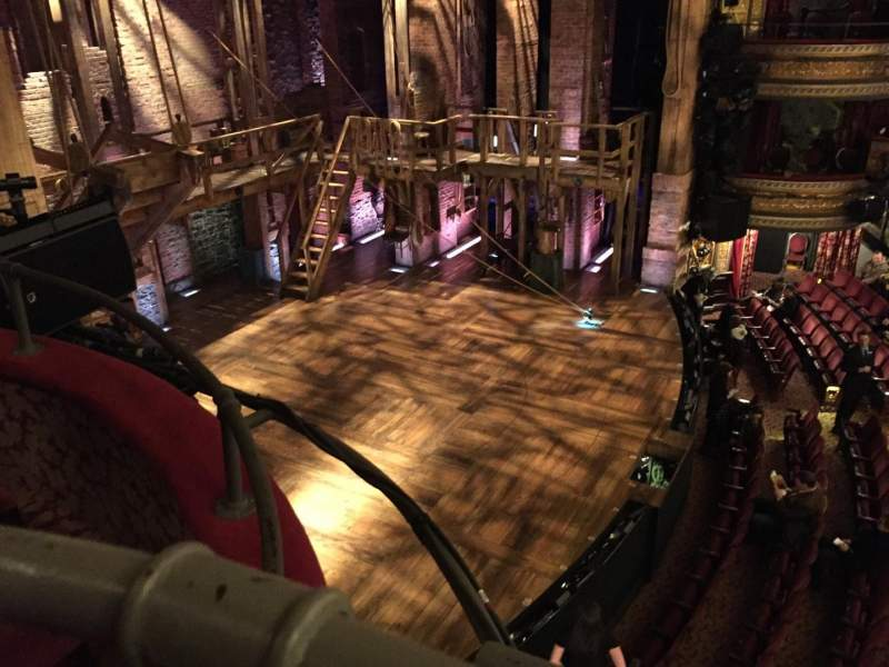 Seating view for Richard Rodgers Theatre Section Box F Seat 1