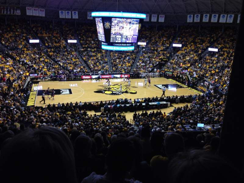 Seating view for Charles Koch Arena Section 110 Row 33 Seat 1
