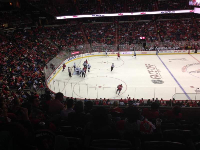 Seating view for Verizon Center Section 213 Row H Seat 11
