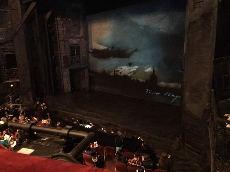 Seating view for Imperial Theatre Section Mez 1 Row A Seat 5