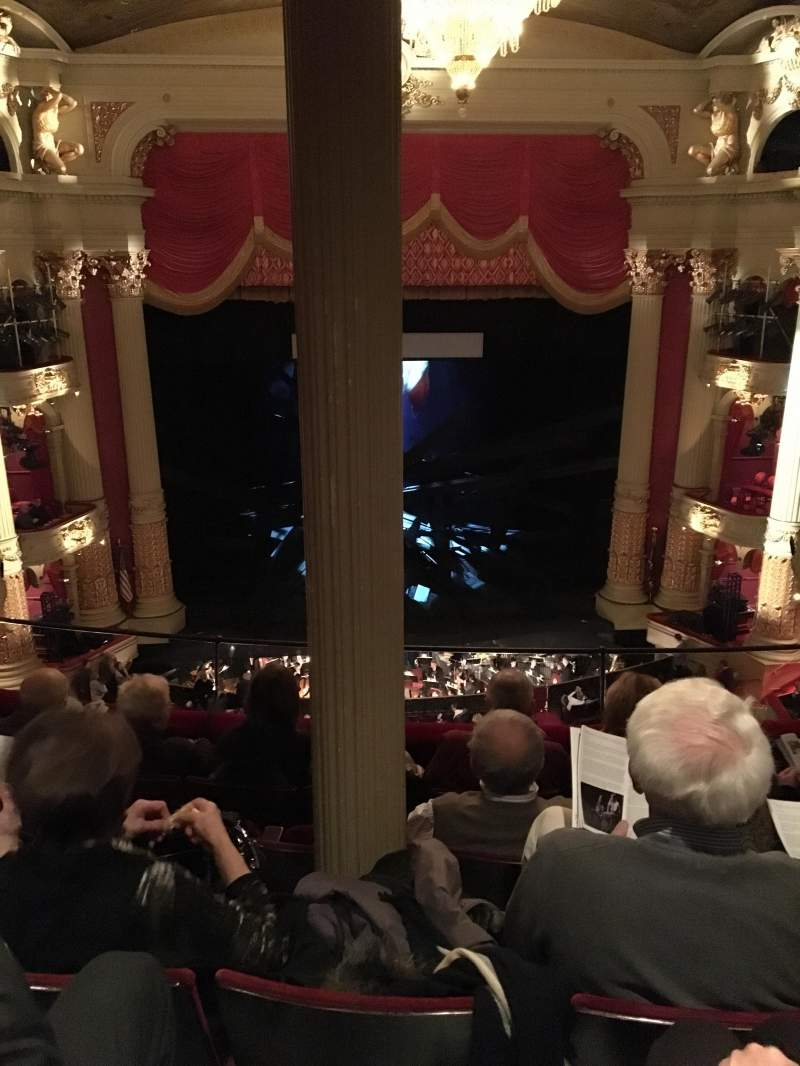 Seating view for Academy of Music Section Family Circle Row E Seat 111