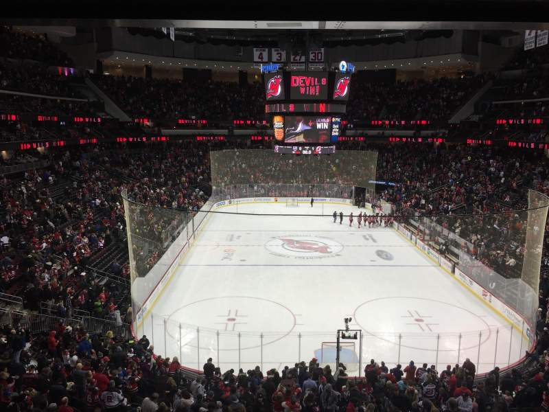 Seating view for Prudential Center Section 25 Row C