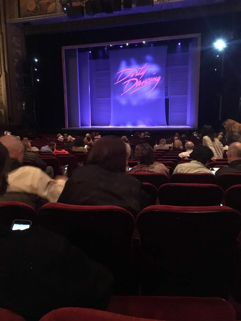 Seating view for Pantages Theatre (Hollywood) Section Orchestra Right Center Row X Seat 203