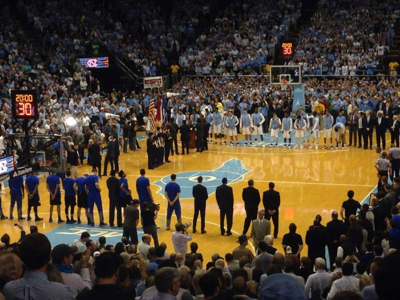 Dean dome, section: 102, row: V, seat: 3