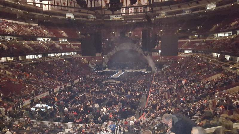 Seating view for United Center Section 201 Row 5 Seat 5
