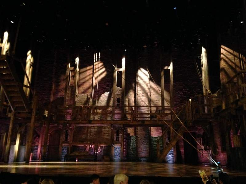 Seating view for Richard Rodgers theatre Section Orchestra Row F Seat 104