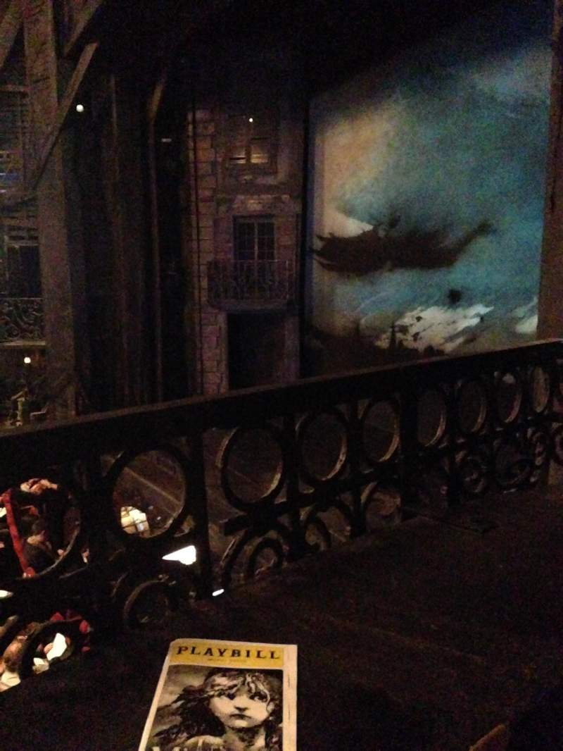 Seating view for Imperial Theatre Section Box Row B Seat 2
