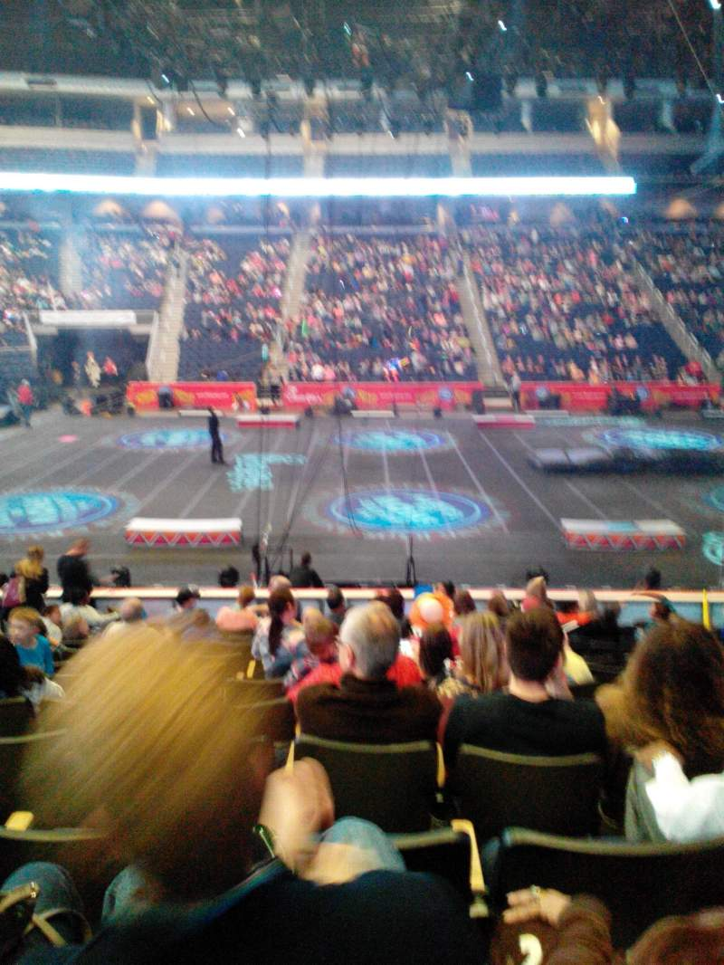 Seating view for Infinite Energy Arena Section 104 Row M Seat 11