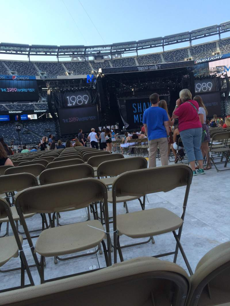 Seating view for MetLife Stadium Section 12 Row 45