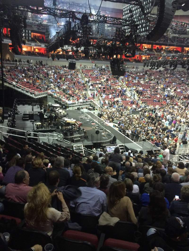 Seating view for KFC Yum! Center Section 119 Row DD Seat 5