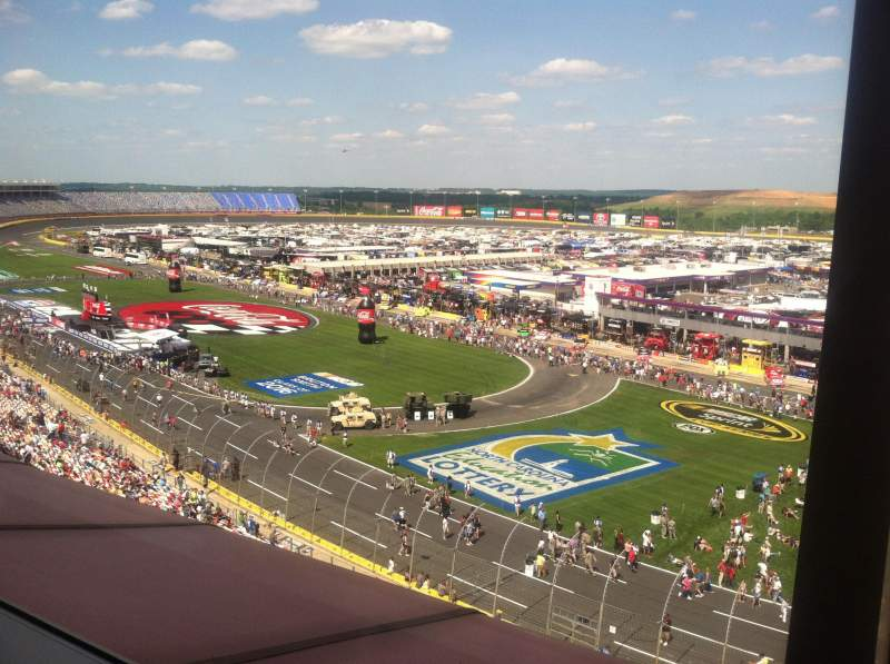 Seating view for Charlotte Motor Speedway Section Suite 140 Row 2 Seat 13