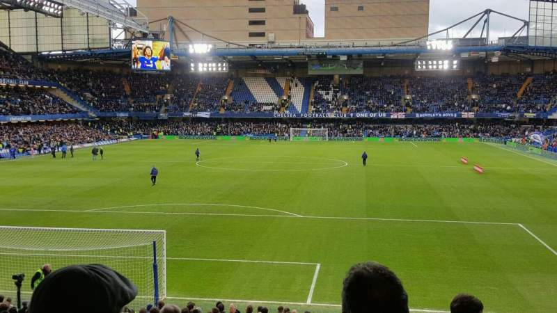 Seating view for Stamford Bridge Section Matthew Harding Upper 12 Row BB Seat 57