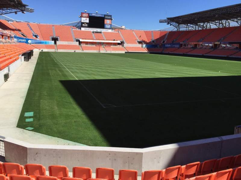 Seating view for BBVA Stadium Section 139 Row E Seat 10