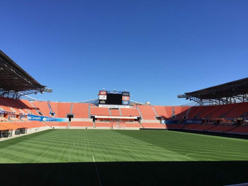 Seating view for BBVA Compass Stadium Section 138 Row e Seat 15