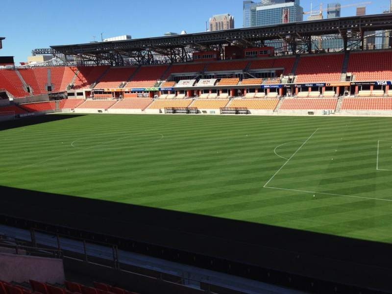 Seating view for BBVA Stadium Section 223 Row 15 Seat j