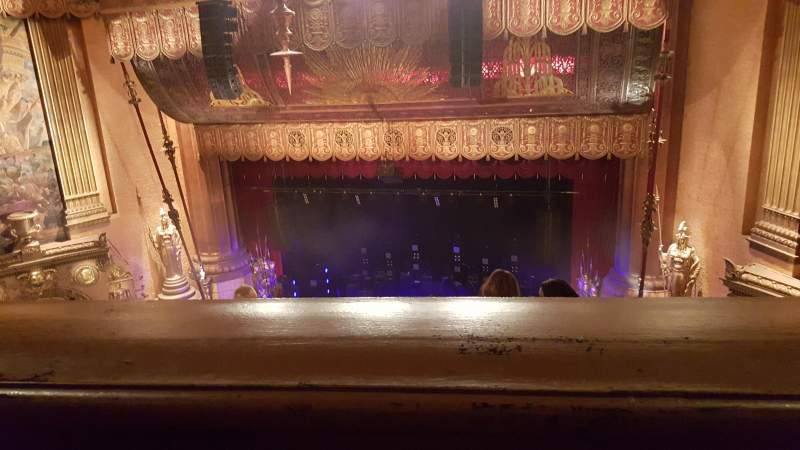 Seating view for Beacon Theatre Section Upper Row J Seat 8