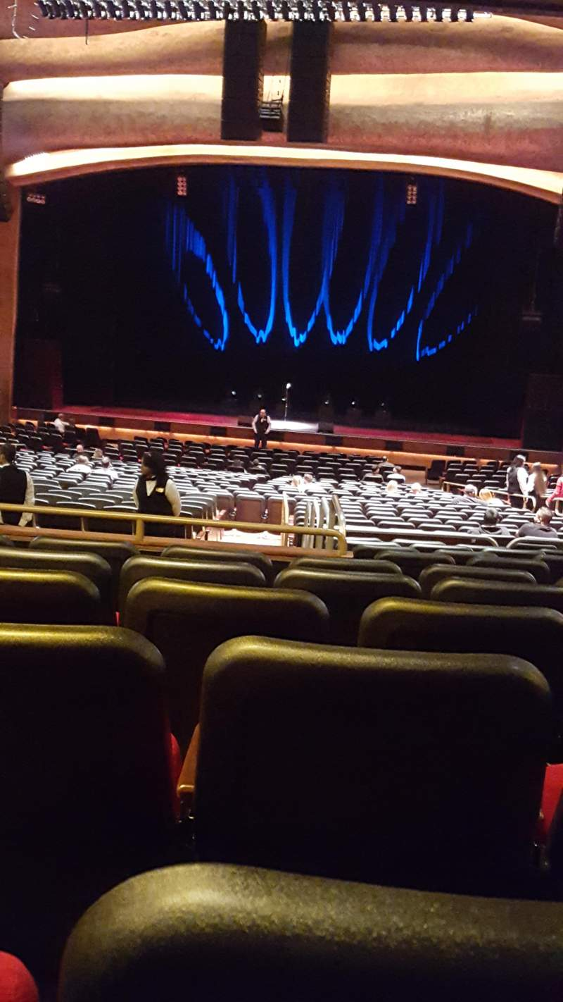 Seating view for The Grand Theater at Foxwoods Section PRt center Row KK Seat 120