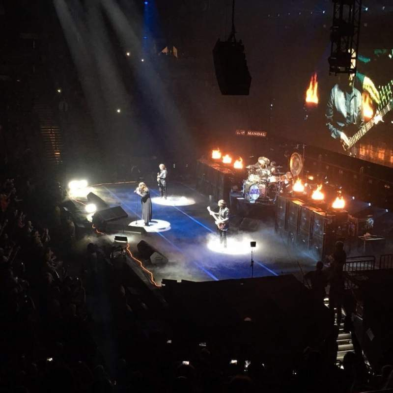 Seating view for Mandalay Bay Events Center Section 221 Row A Seat 7