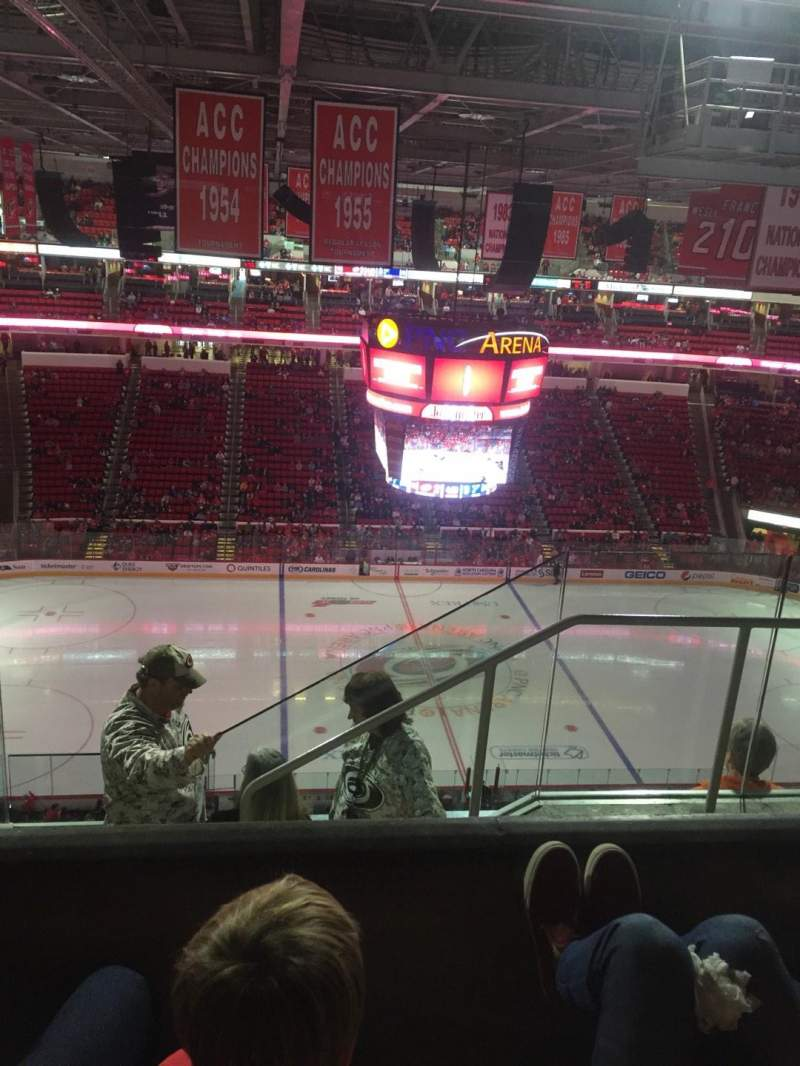 Seating view for PNC Arena Section 305 Row E Seat 3