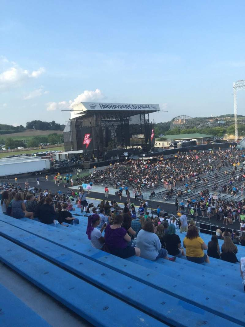 Seating view for Hershey Park Stadium Section 6 Row T Seat 4
