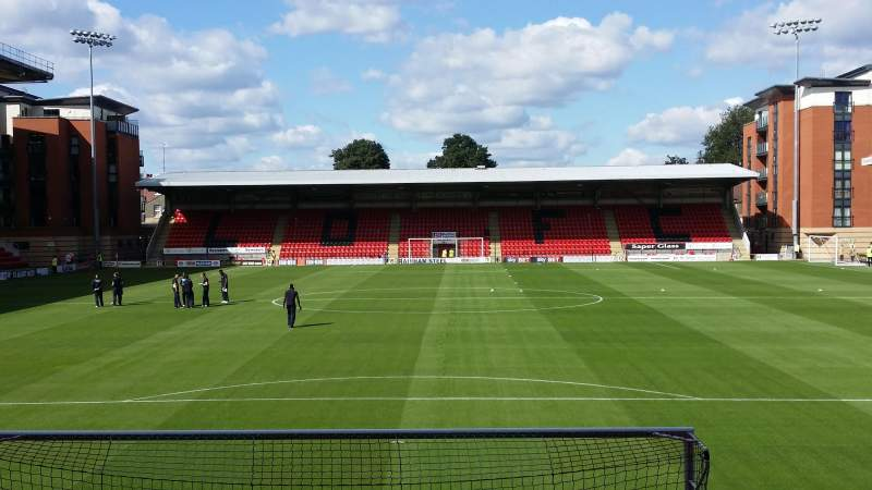 Seating view for Matchroom Stadium Section South Stand Row F Seat 52