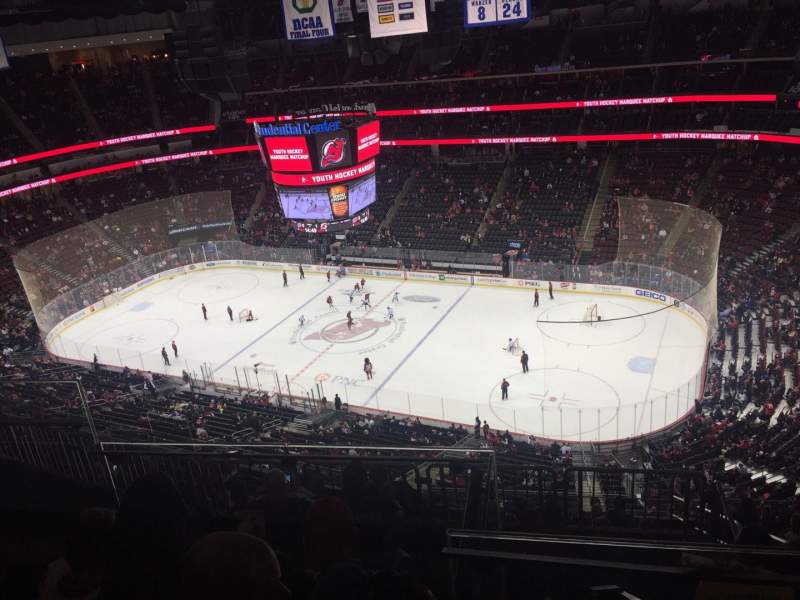 Seating view for Prudential Center Section 232 Row 4 Seat 10
