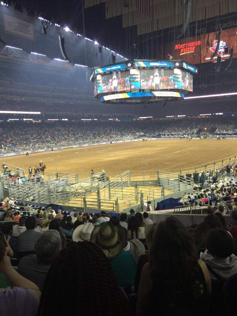 Seating view for NRG Stadium Section 133 Row Y Seat 13