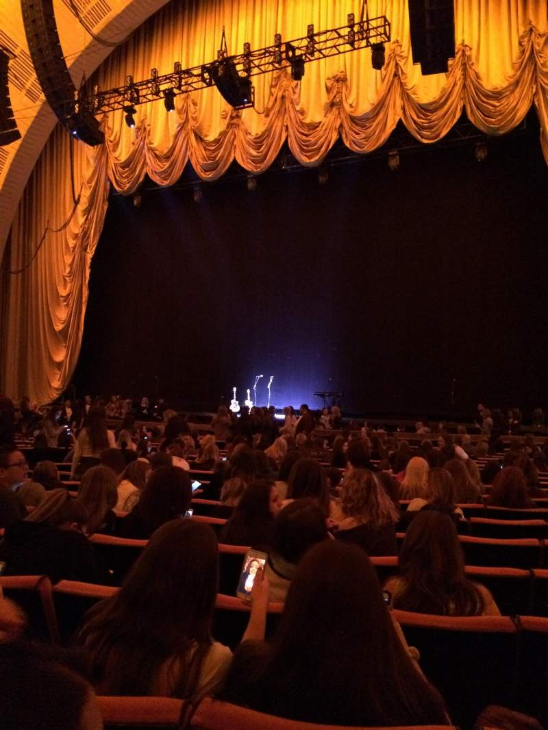 Seating view for Radio City Music Hall Section Orchestra 2 Row TT