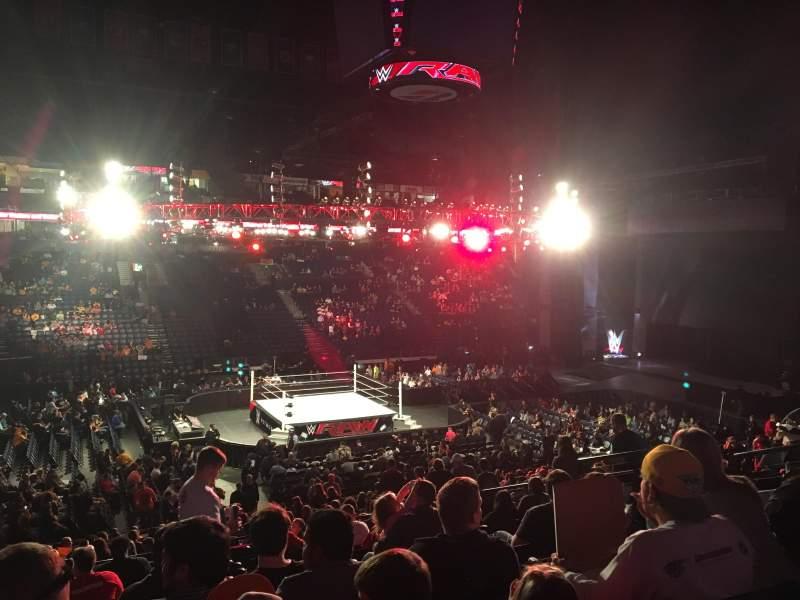 Bridgestone Arena, section: 104, row: M, seat: 9