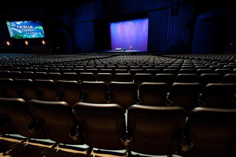 Seating view for Microsoft Theater Section Orchestra Center Right Row S Seat 214