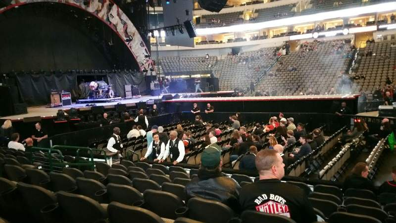 Seating view for American Airlines Center Section 119 Row H Seat 9