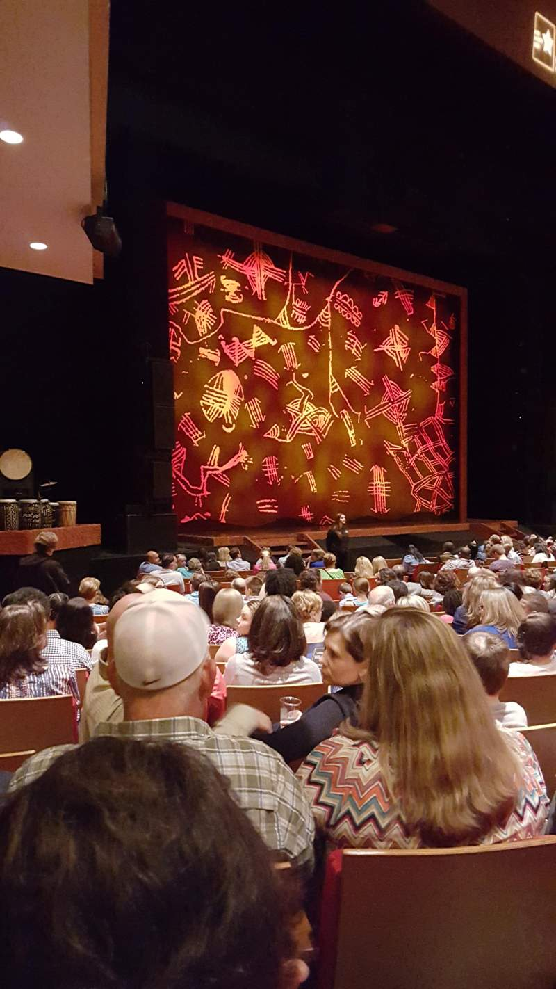 Seating view for Durham Performing Arts Center Section 2 Row Q Seat 316